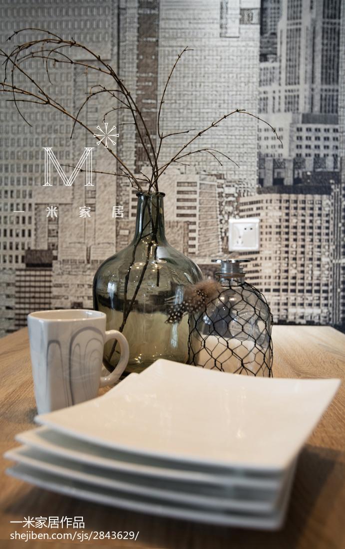 精选84平米二居餐厅现代效果图片大全