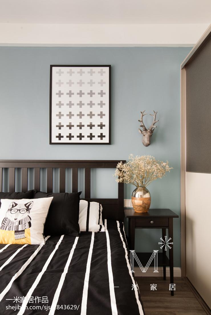 201880平方二居卧室现代欣赏图片大全