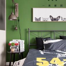 精美面积76平现代二居卧室装饰图片欣赏
