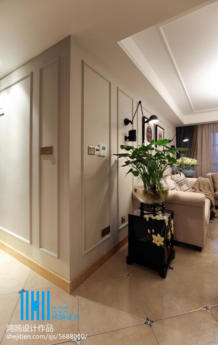 热门91平米3室混搭装修图片大全