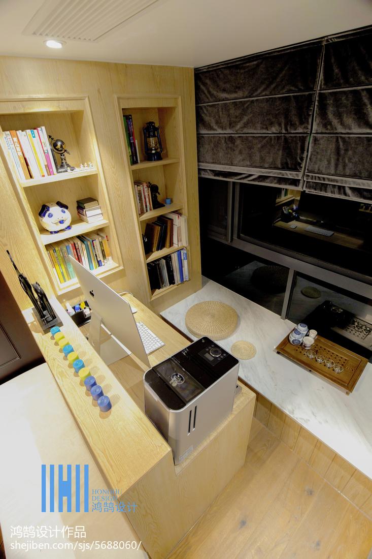 精选大小100平混搭三居书房装修图