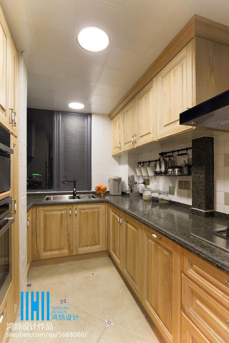 精美混搭三居厨房欣赏图片