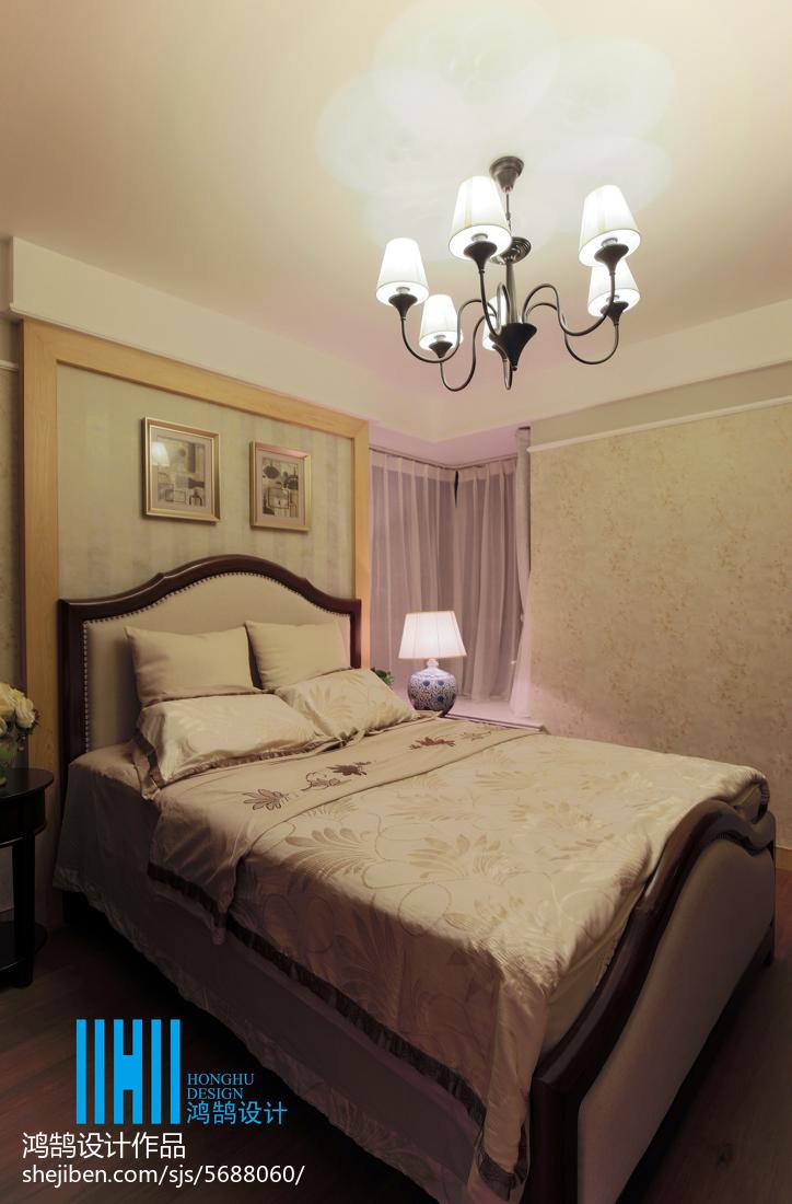 面积100平混搭三居卧室装修实景图片大全