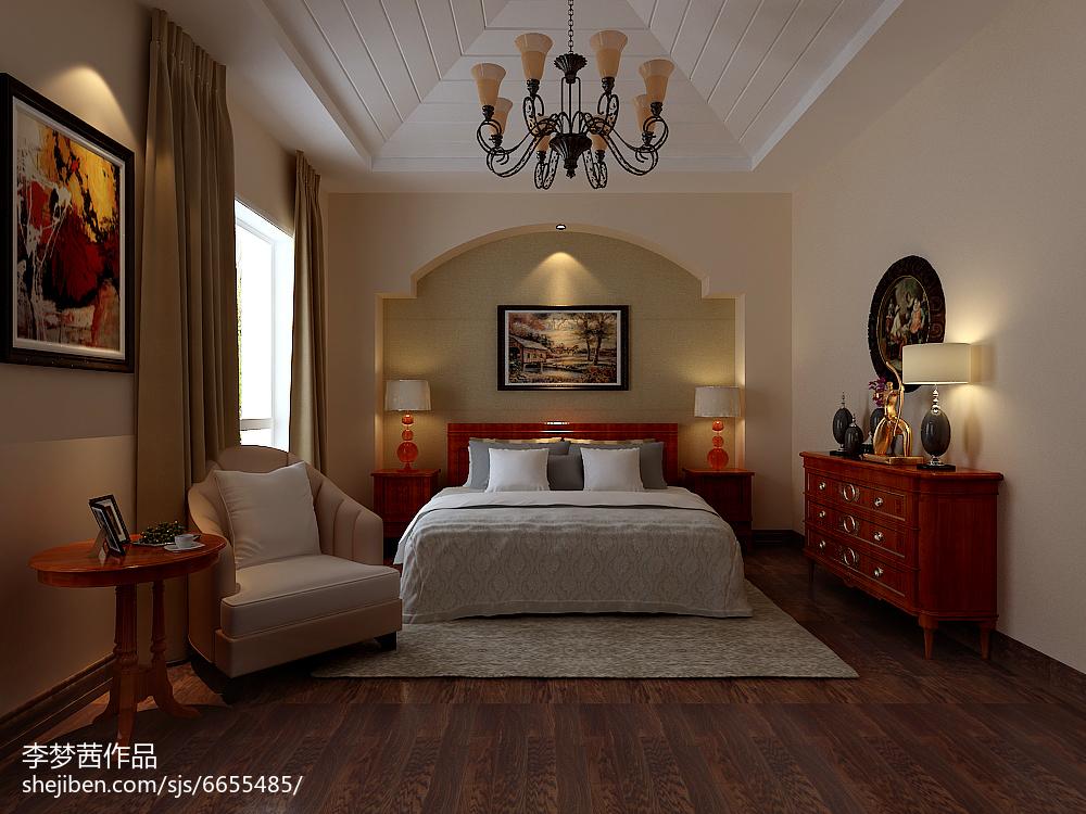 北欧风格卧室设计效果图案例