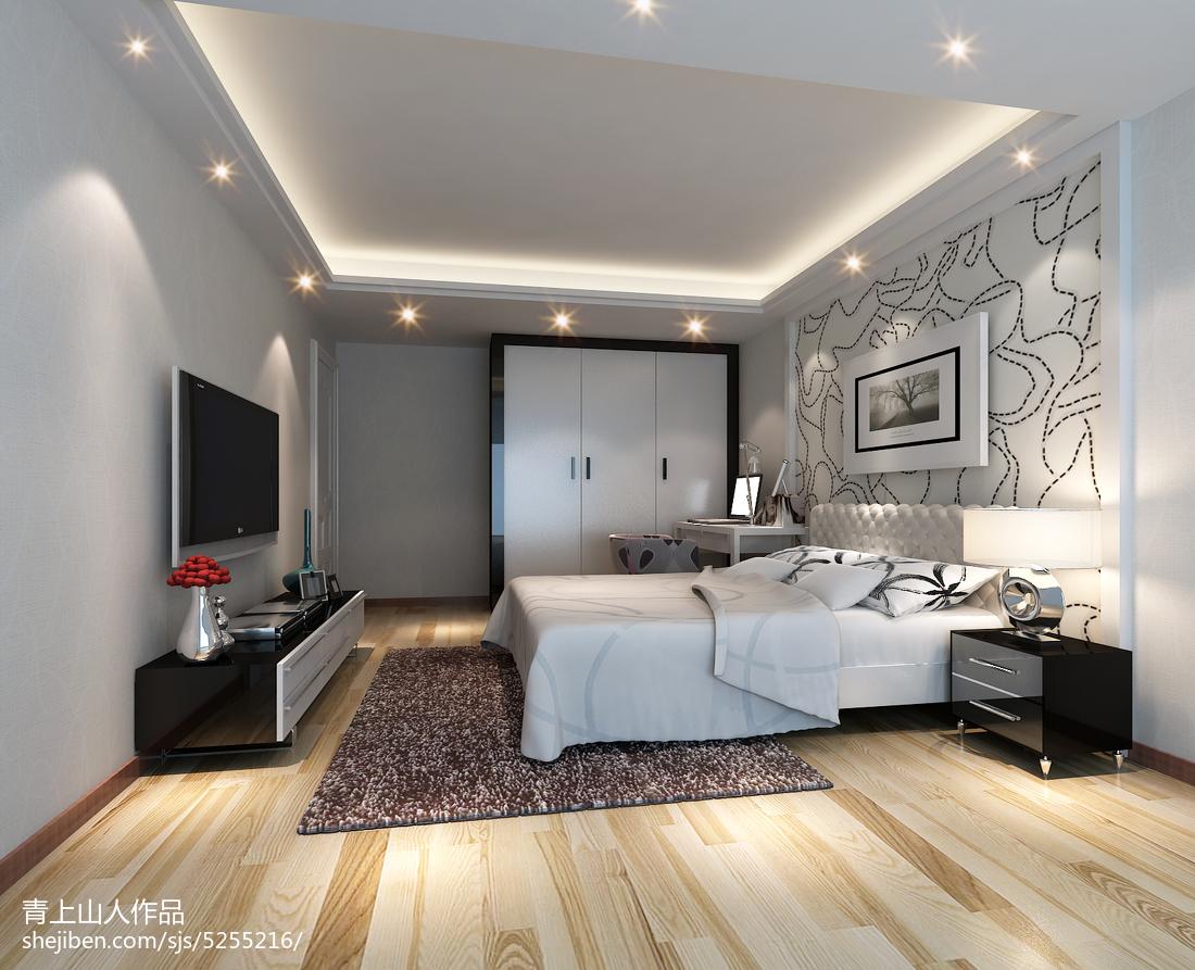 客厅改卧室效果图_三室两厅房子设计平面图-土巴兔装修效果图