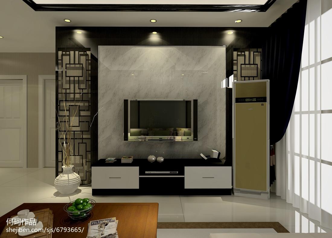 精美面积73平现代二居客厅装修图片大全