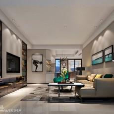 精美简约复式客厅装修图片