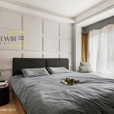 精美109平米三居卧室现代效果图