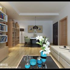 精美85平米二居客厅现代装修欣赏图片