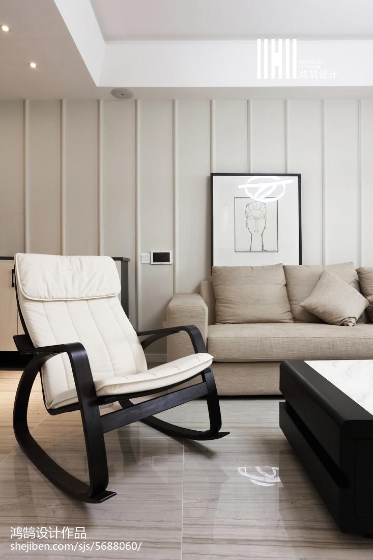 2018102平米三居客厅现代装修欣赏图