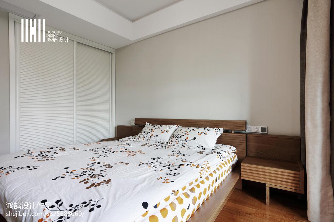 面积100平现代三居卧室效果图片大全