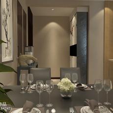 美式风格两室一厅装修效果图欣赏