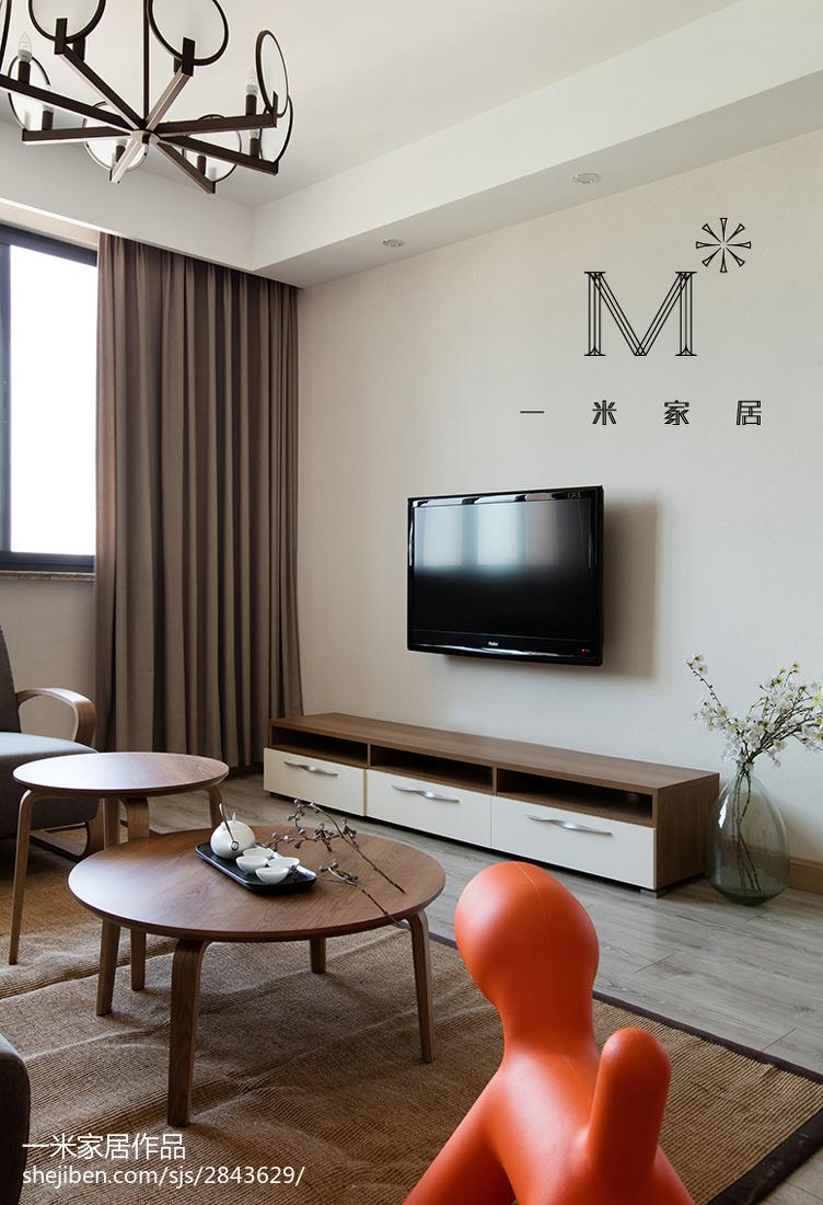 华丽69平现代二居装修图片