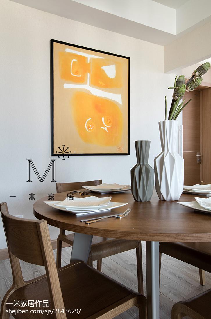精美面积77平现代二居餐厅装修效果图片