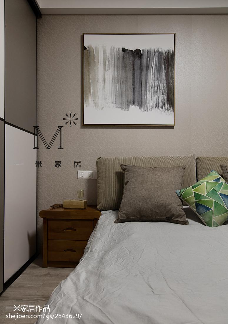 2018精选现代二居卧室装修欣赏图片