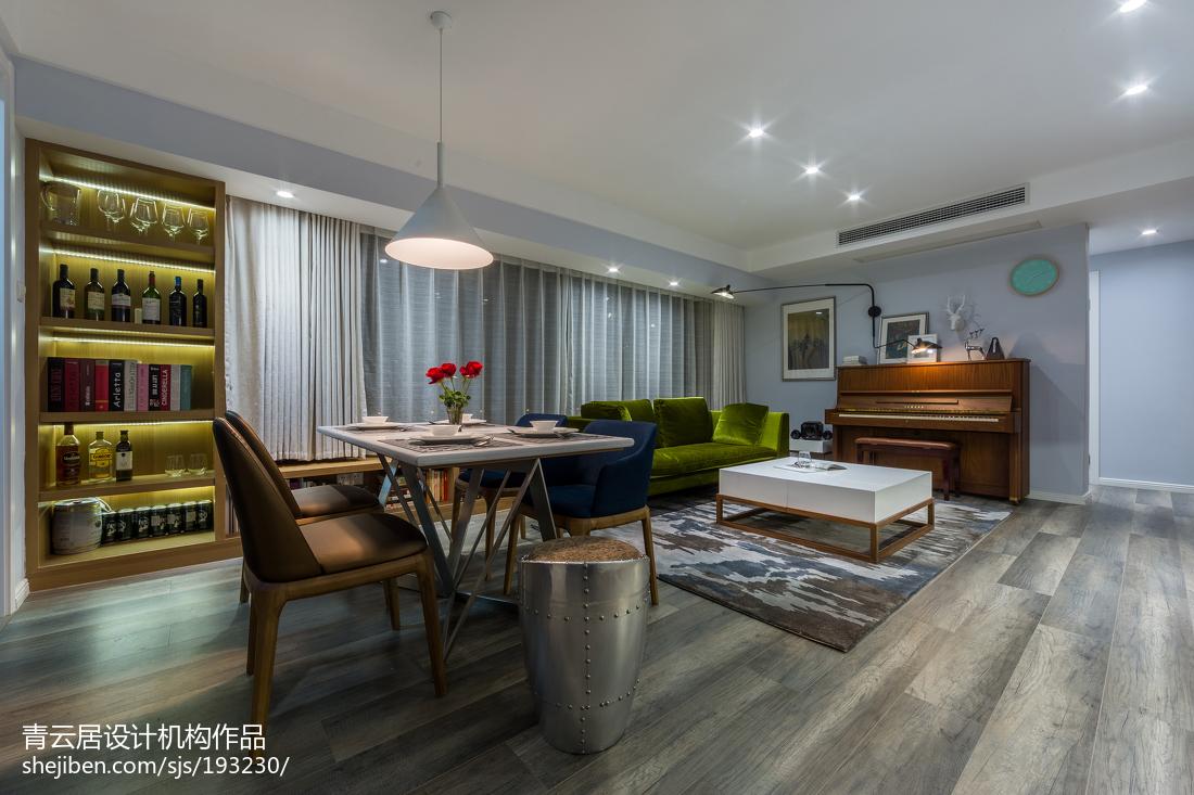 2018精选88平米二居客厅北欧欣赏图片