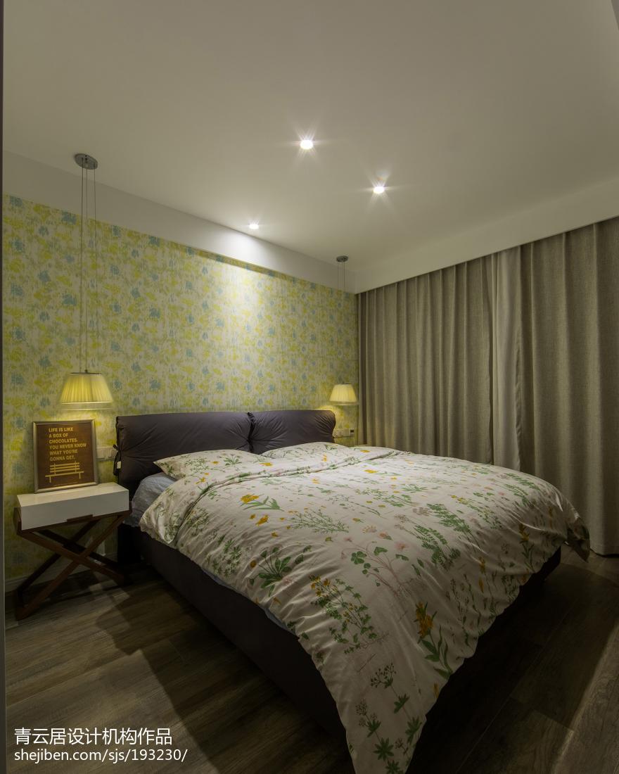 精选二居卧室北欧装饰图片欣赏