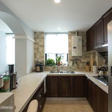 71平米二居厨房美式实景图片