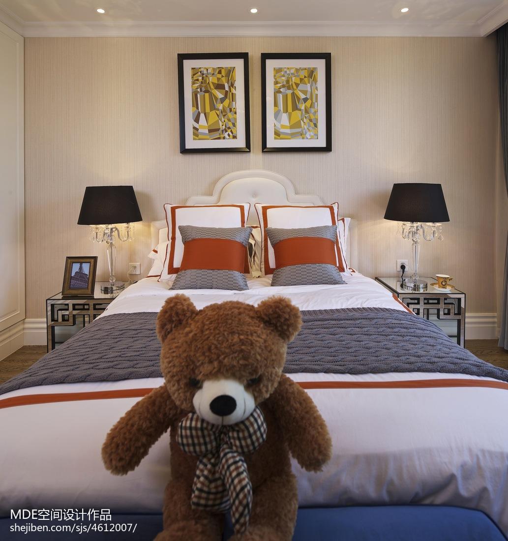 美式轻奢卧室装修