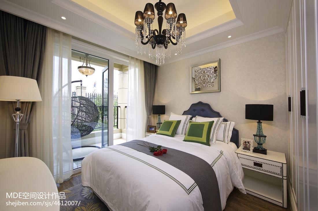 美式轻奢卧室设计