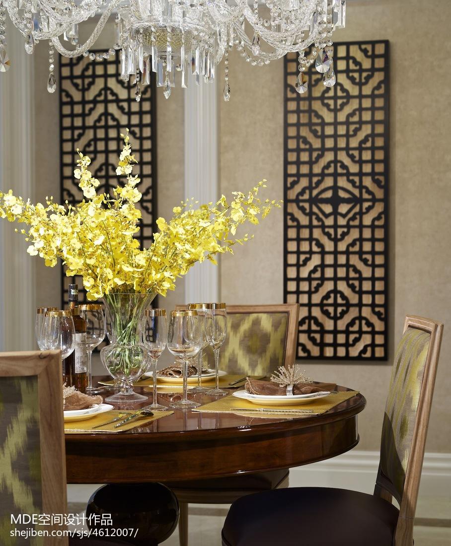热门餐厅美式装修实景图片欣赏