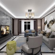 精美大小92平中式三居客厅装修欣赏图