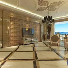 欧式装修130平米四居室装修效果图大全