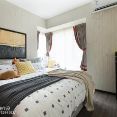 精选90平米三居卧室混搭装修设计效果图片