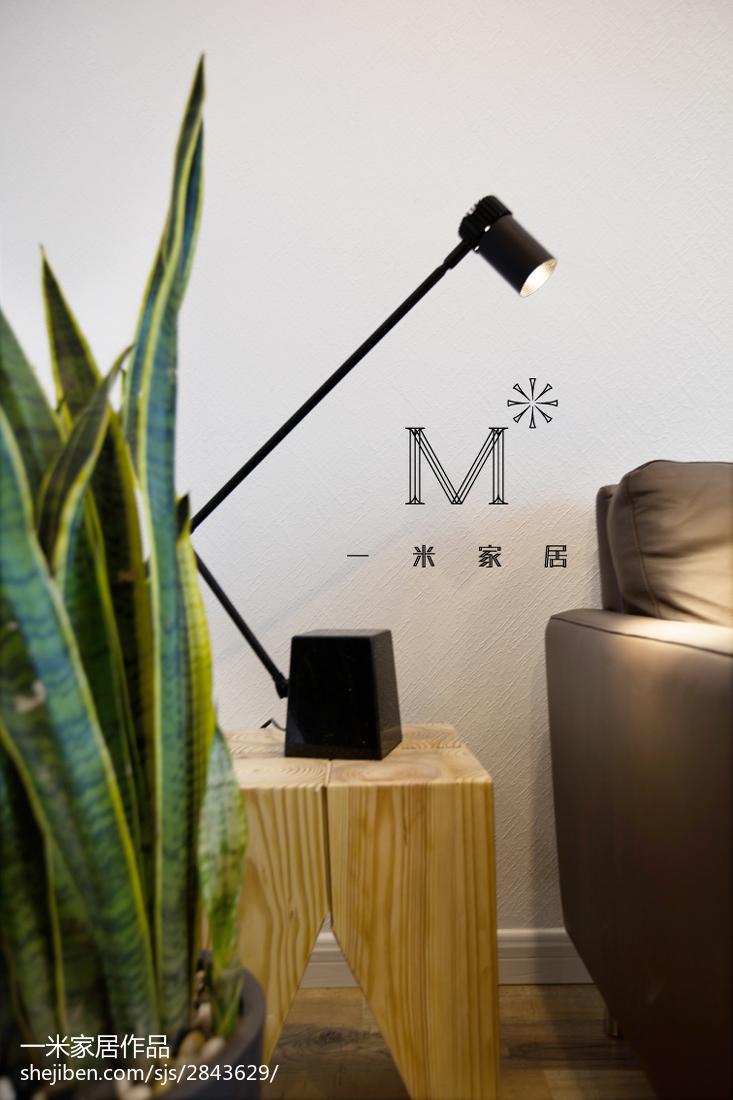 热门面积70平小户型客厅现代装饰图片欣赏