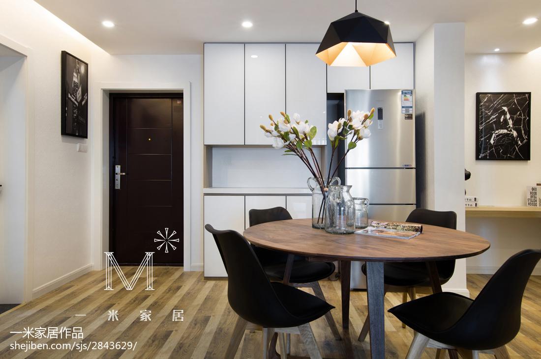 2018精选面积70平小户型餐厅现代装修设计效果图片欣赏