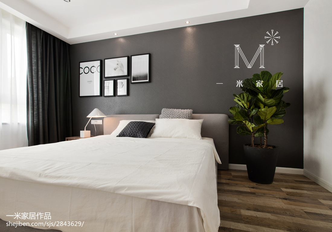 2018小户型卧室现代装修设计效果图片