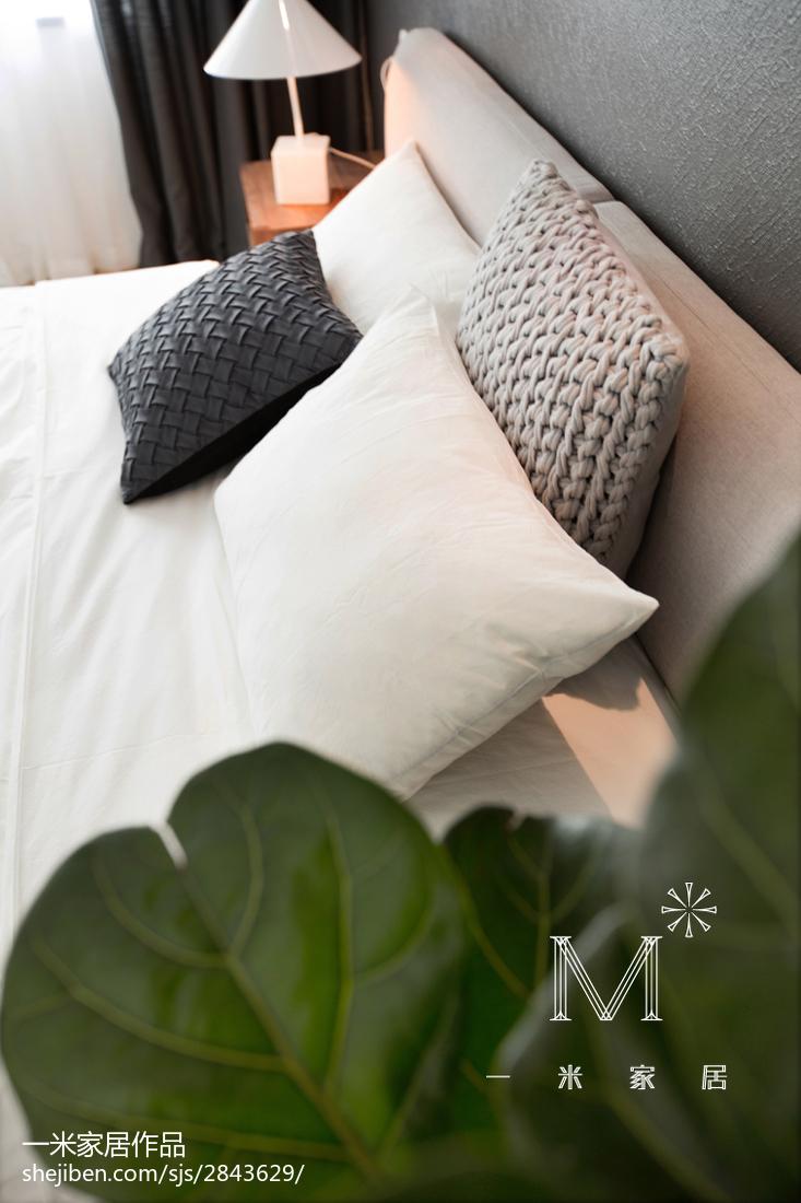 浪漫39平现代小户型卧室装潢图