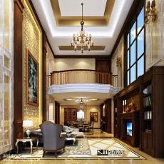 复式客厅水晶灯