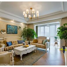 精美136平米四居客厅美式实景图片