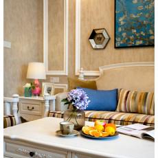 热门131平米四居客厅美式装饰图片大全