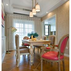 精选面积144平美式四居餐厅装饰图片欣赏