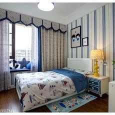 精美面积143平美式四居儿童房装修图片