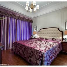 精美141平米四居卧室美式设计效果图