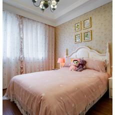 精美面积133平美式四居卧室装修设计效果图片大全