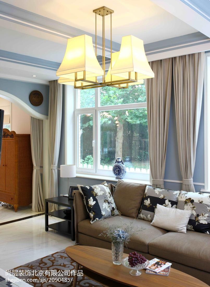 精选129平米美式别墅休闲区装修欣赏图片大全