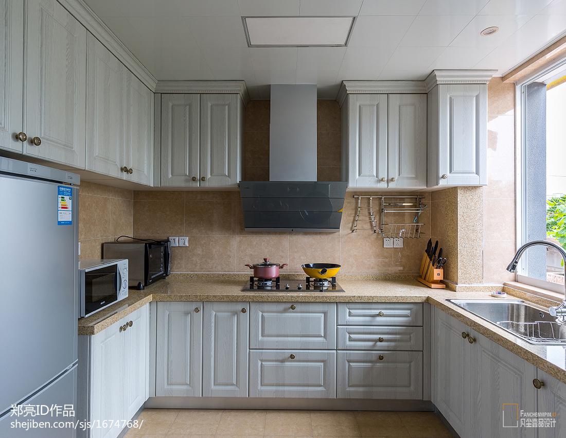 精致61平美式二居厨房装修美图