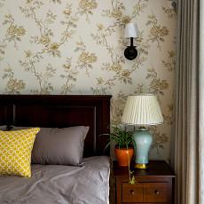 简洁62平美式二居卧室装修装饰图