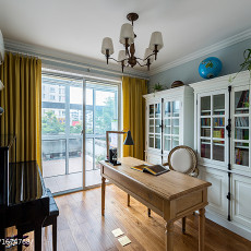 明亮63平美式二居装修案例
