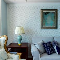 大气55平美式二居客厅装修美图