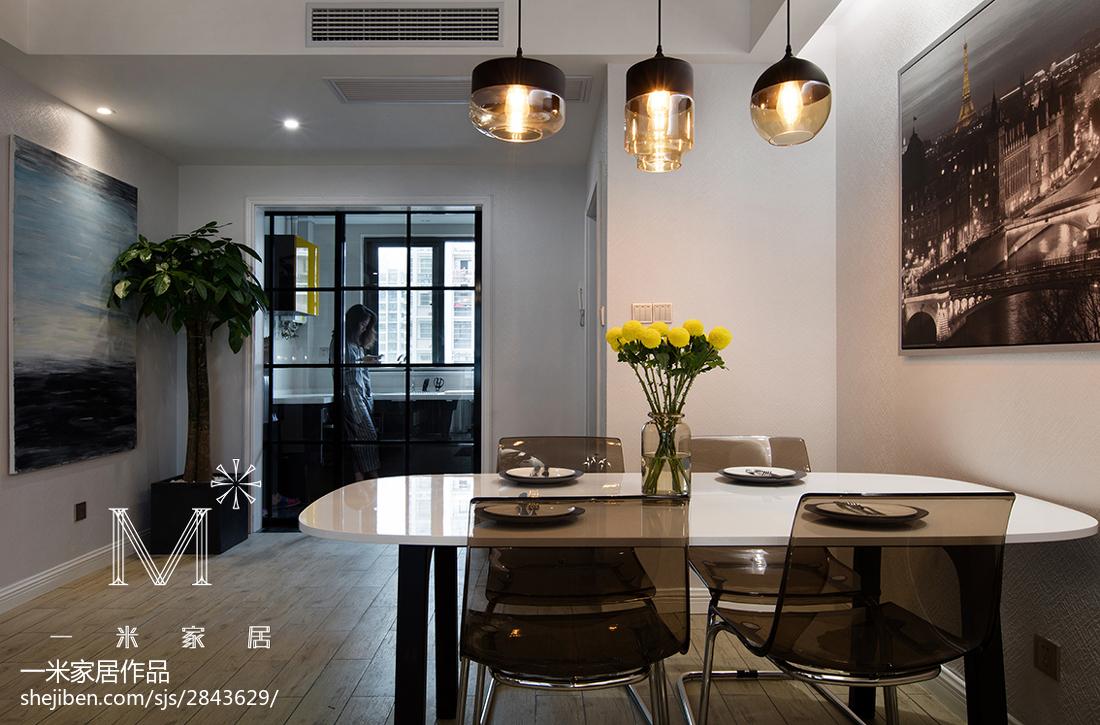 201881平米二居餐厅现代装修图片大全