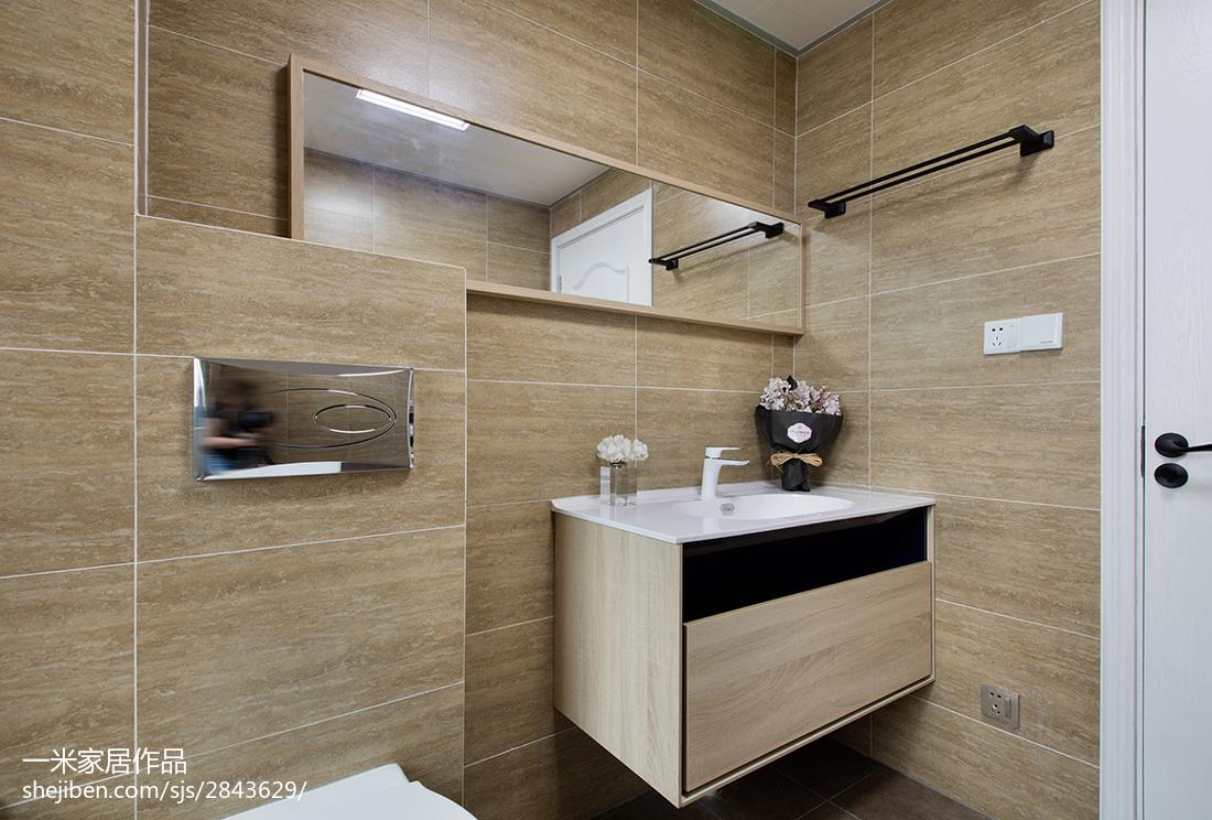 精选现代二居卫生间欣赏图