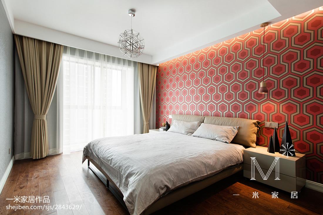 201875平米二居卧室现代装修设计效果图片大全