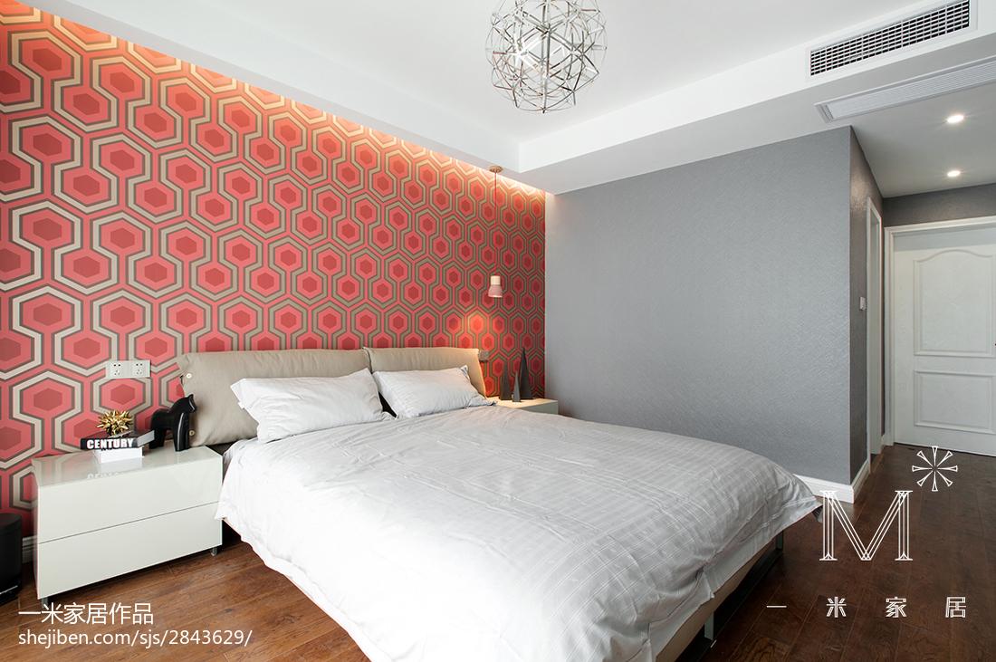 精美面积84平现代二居卧室装饰图片大全
