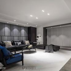 精美105平现代三居客厅设计美图