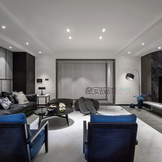 优美87平现代三居客厅设计案例